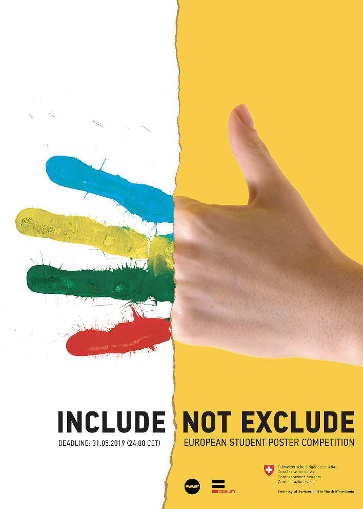 Include Not Exclude - Poster Competition